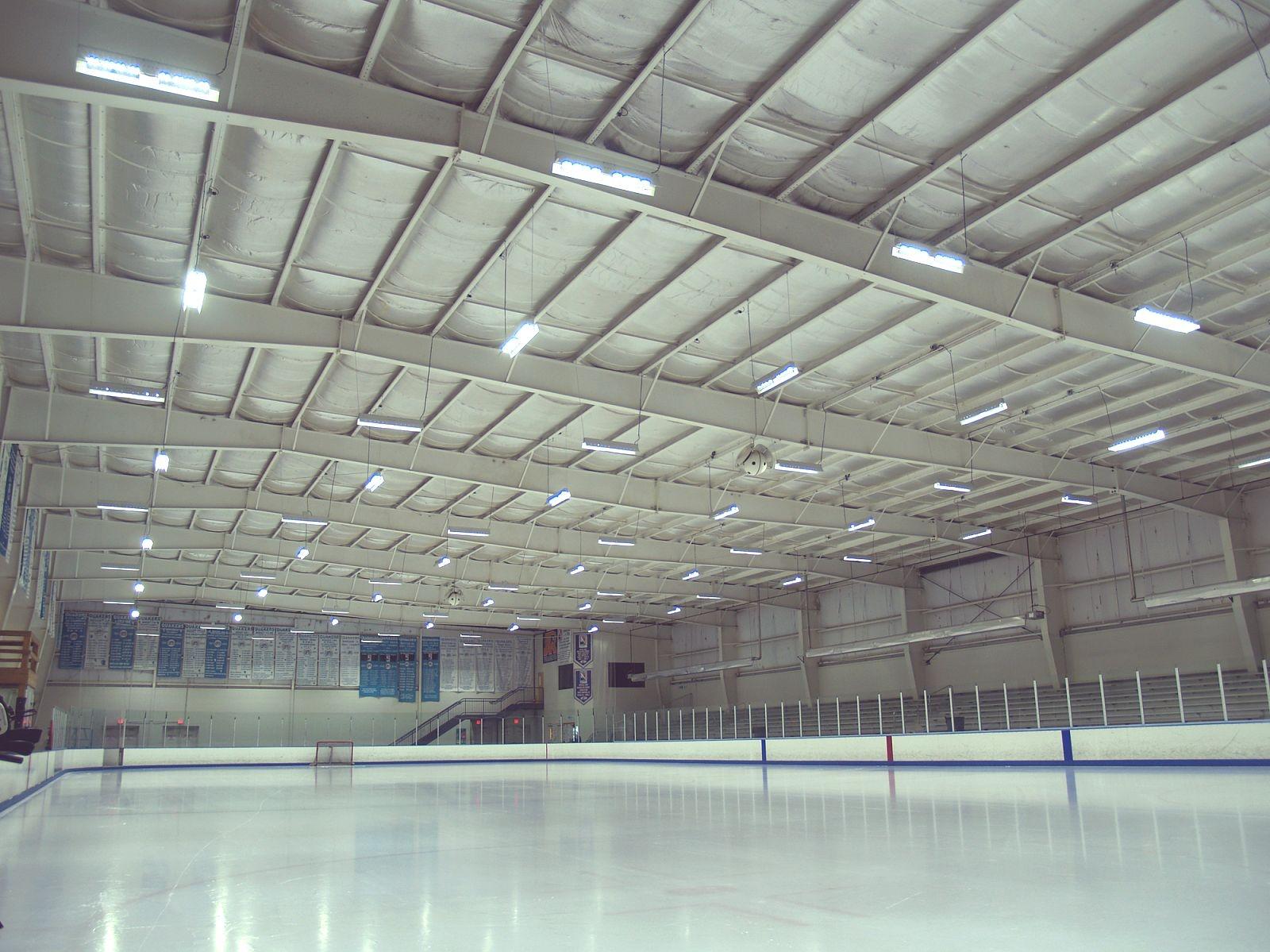 Ice Line Quad Rinks Post Installation