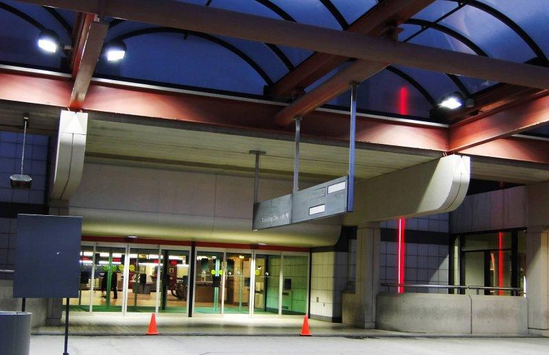 Pittsburgh International Airport Passenger Drop Off Area (2), Pennsylvania