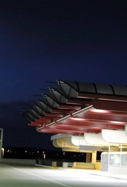Pittsburgh International Airport Passenger Drop Off Area, Pennsylvania